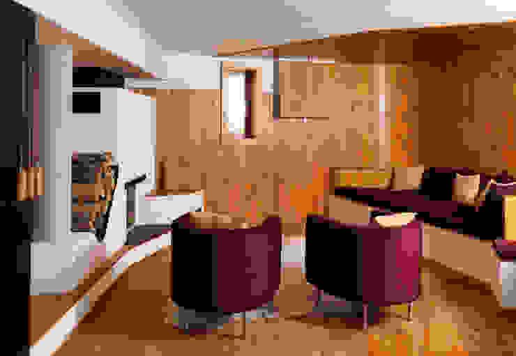 Livings de estilo  por Simon Gill Architects