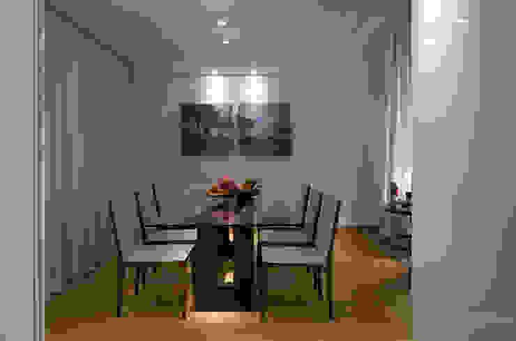 Residencia Serra dos Manacás Salas de jantar modernas por Manuela Senna Arquitetura e Design de Interiores Moderno