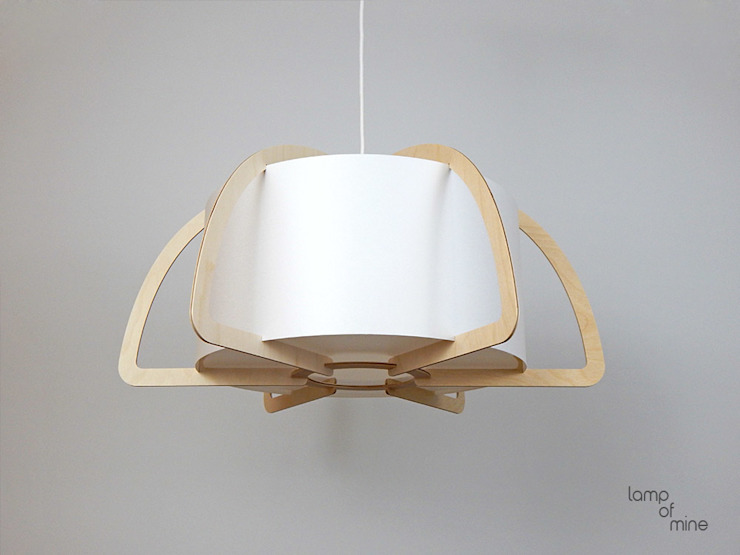de lamp of mine Escandinavo Madera Acabado en madera