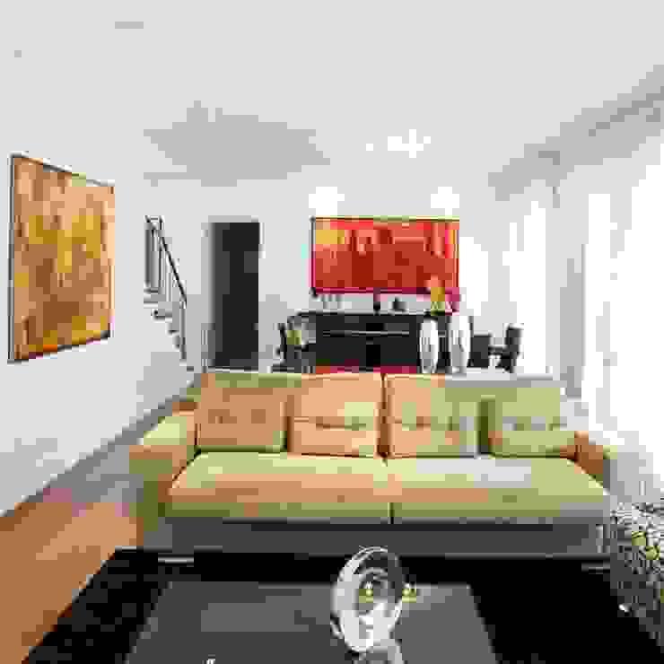 Livings Elegantes Salas de estar minimalistas por Vera Teixeira design de interiores Minimalista