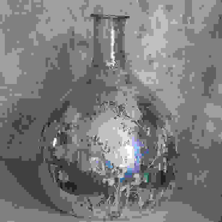 Antique Silver Leaf Vase Dust HogarAccesorios y decoración Metálico/Plateado