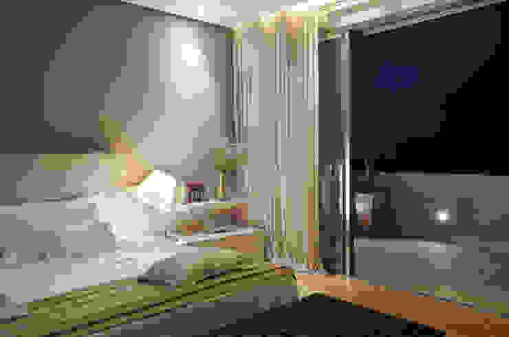 Kamar Tidur Modern Oleh Manuela Senna Arquitetura e Design de Interiores Modern