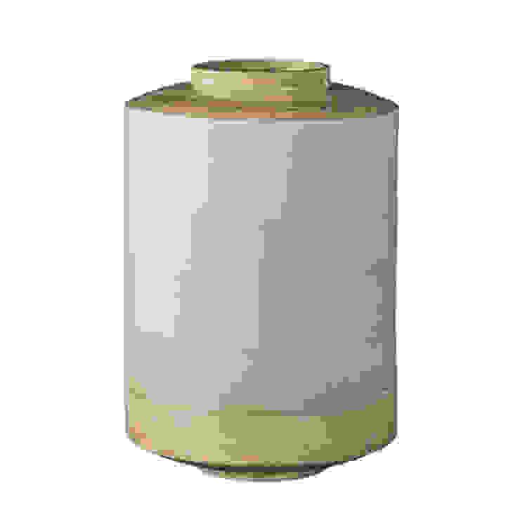 Bamboo Vase, Gradient Sky Blue Dust HogarAccesorios y decoración Bambú Azul