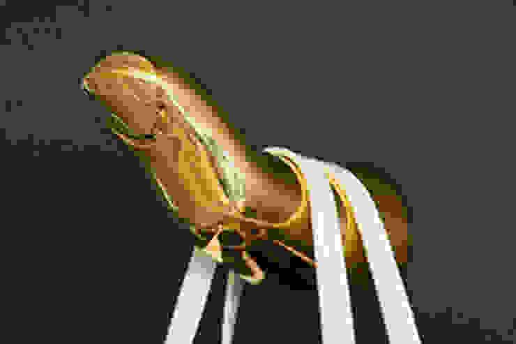 Jonathan Adler Solid Brass Finger Coat Hook Dust 家居用品配件與裝飾品 銅/青銅/黃銅 Amber/Gold