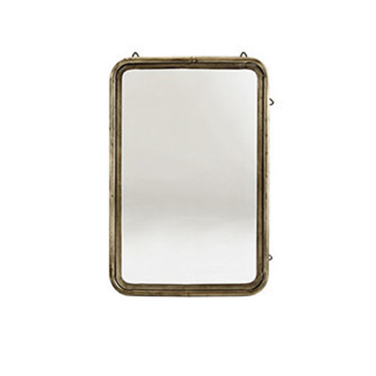 Antique Brass Mirror Dust HogarAccesorios y decoración Cobre/Bronce/Latón Ámbar/Dorado