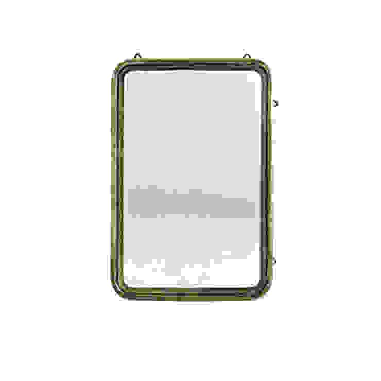 Antique Brass Mirror Dust 家居用品配件與裝飾品 銅/青銅/黃銅 Amber/Gold
