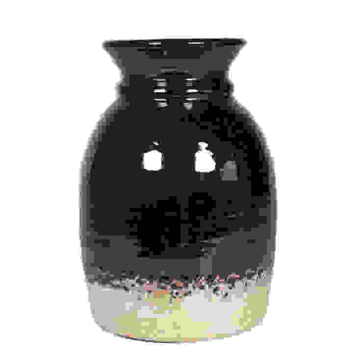 Abigail Ahern Canyon Vase medium Dust HogarAccesorios y decoración Negro