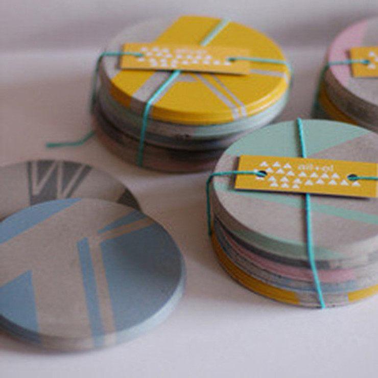 Ail+El coasters Dust 家居用品配件與裝飾品 Multicolored