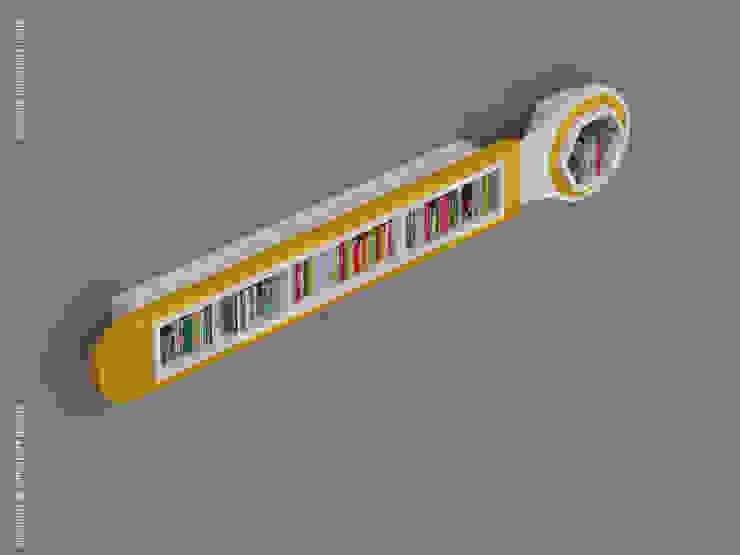 Wrench Bookshelves: modern  by Preetham  Interior Designer,Modern