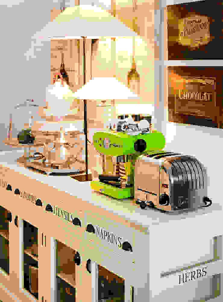 Gavetão- Decoração de Interiores Rustic style kitchen