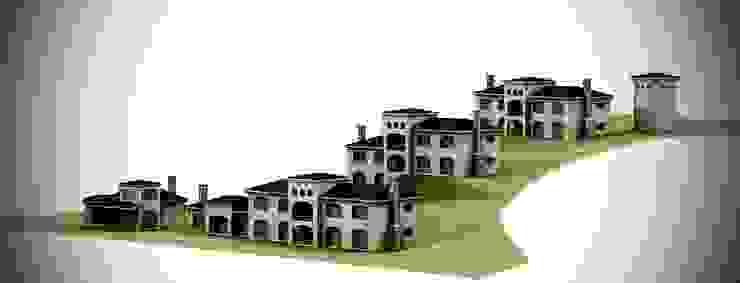 Minimalist house by Lüters ochoa arquitectos. Minimalist Stone