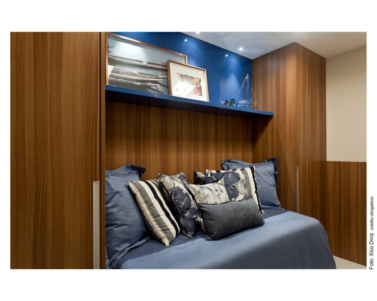 SUITE HOSPEDE:  tropical por MA Interior Design,Tropical