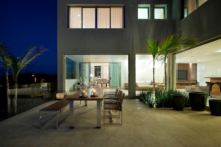 Residencia Serra dos Manacás Casas modernas por Manuela Senna Arquitetura e Design de Interiores Moderno