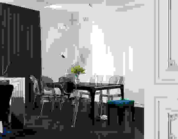 le luxe de la simplicité Кухни в эклектичном стиле от Dara Design Эклектичный