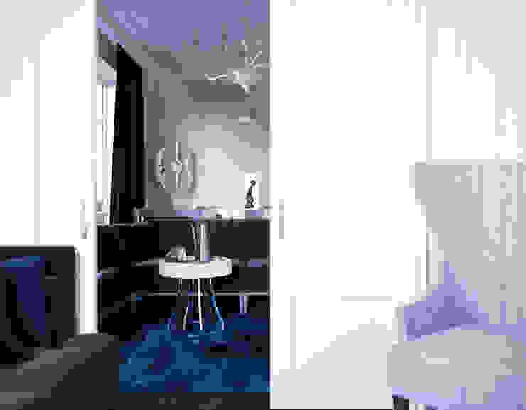 le luxe de la simplicité Рабочий кабинет в эклектичном стиле от Dara Design Эклектичный