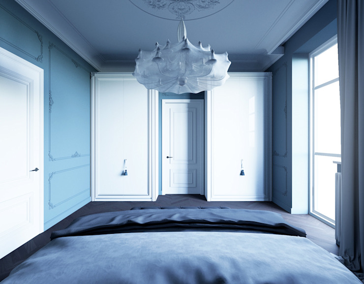 le luxe de la simplicité Спальня в эклектичном стиле от Dara Design Эклектичный