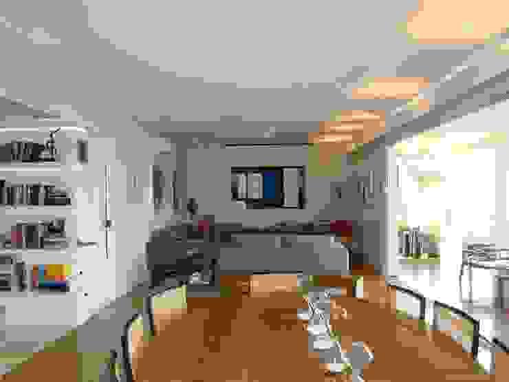 Comedores de estilo moderno de Luli Hamburger Arquitetura Moderno