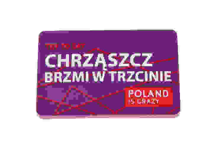 Poland Is Crazy 0201 chrząszcz od POLAND IS CRAZY Nowoczesny Plastik