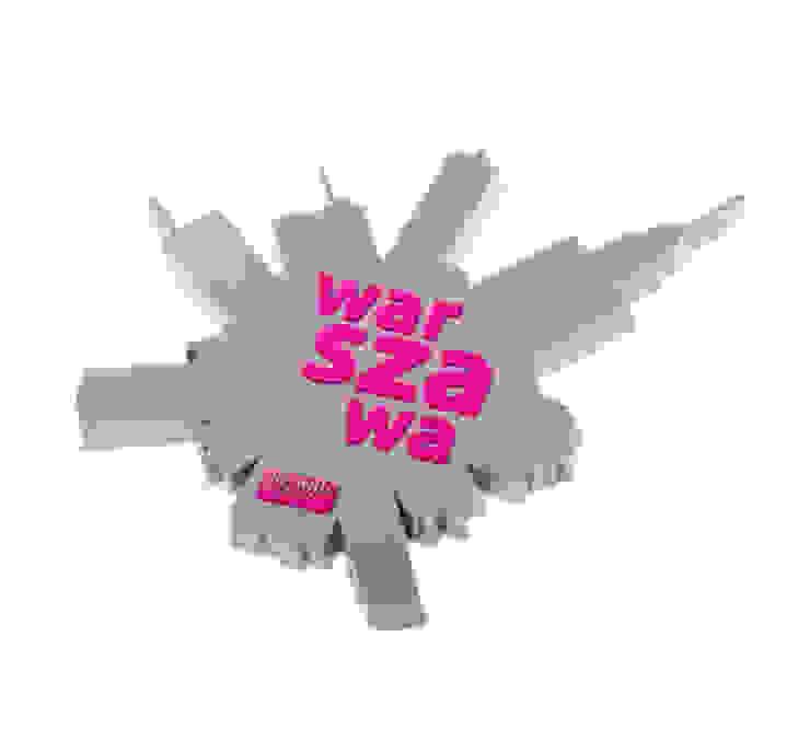 Poland Is Crazy 0601 fisheye_warsaw od POLAND IS CRAZY Nowoczesny Plastik