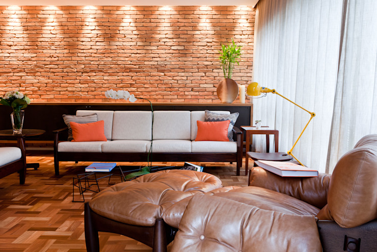 Ambienta Arquitetura Modern living room