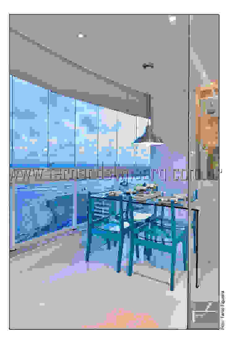 PITUBA PRIVILLEGE Salas de jantar modernas por FERNANDA LIMA Moderno