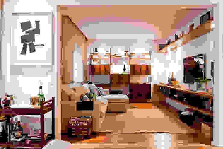 Ambienta Arquitetura Salas de estilo moderno