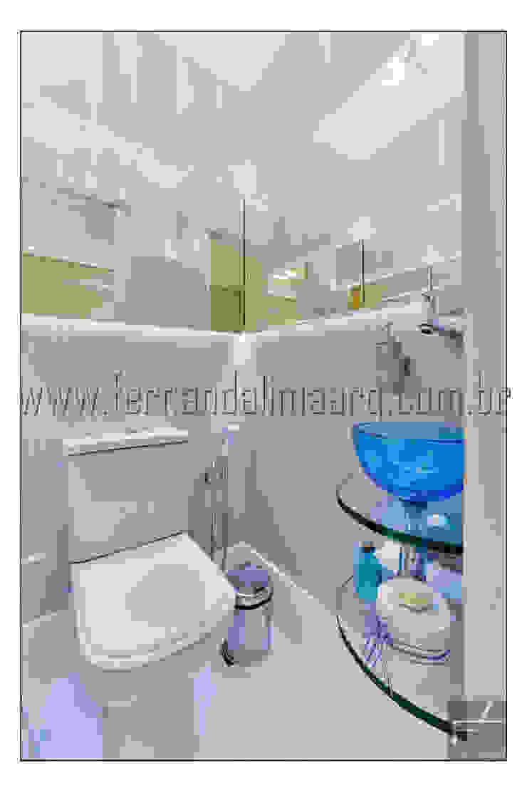PITUBA PRIVILLEGE Banheiros modernos por FERNANDA LIMA Moderno