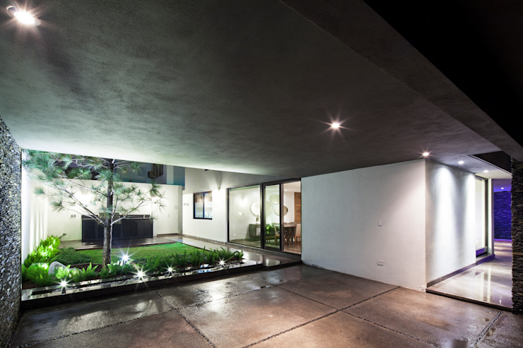 Jardin moderne par NODO Arquitectura Moderne