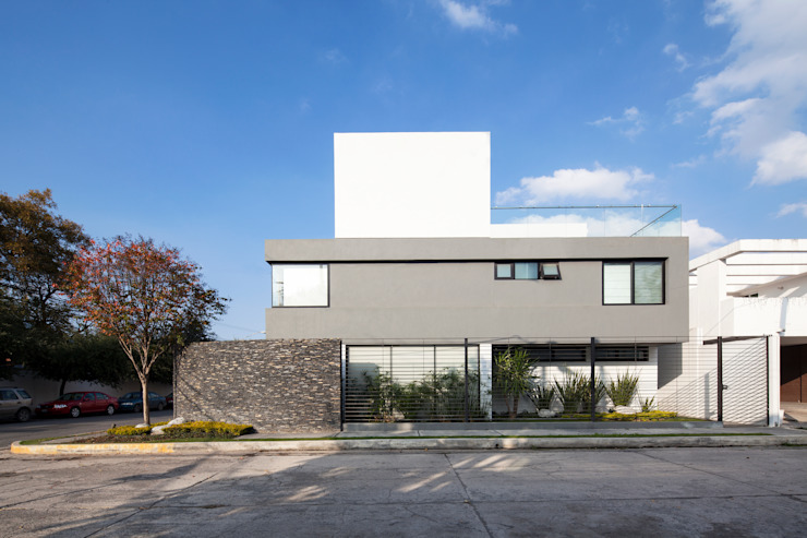 Modern houses by NODO Arquitectura Modern
