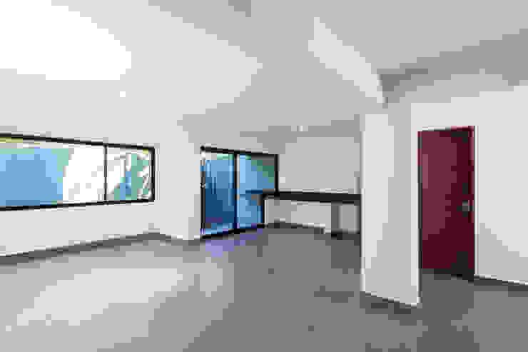 Salas de estar modernas por NODO Arquitectura Moderno