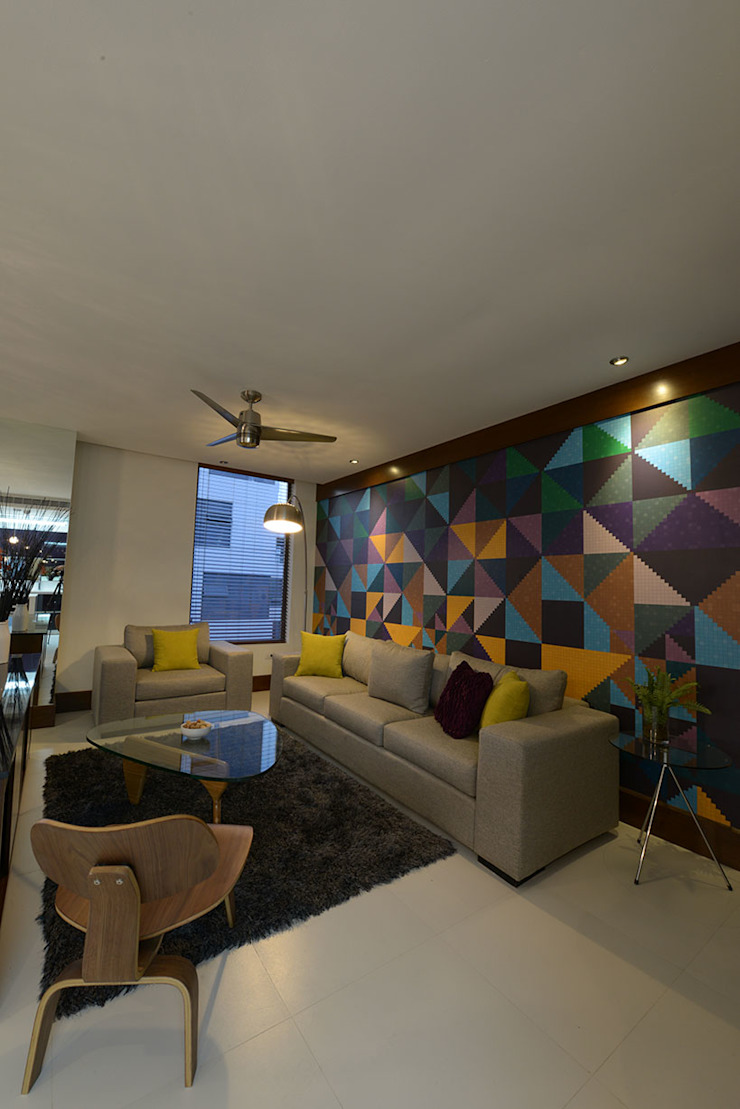 BOSQUES Salones modernos de ESTUDIO TANGUMA Moderno
