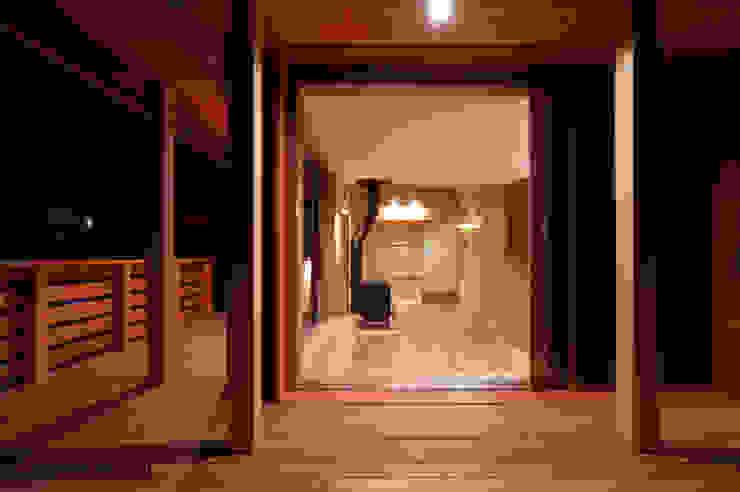 アグラ設計室一級建築士事務所 agra design room Eclectic style houses Wood