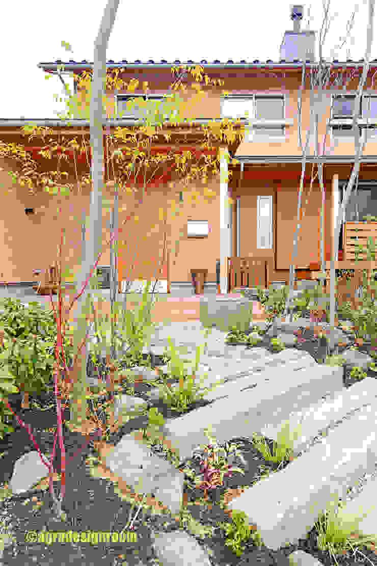 アグラ設計室一級建築士事務所 agra design room Eclectic style garden