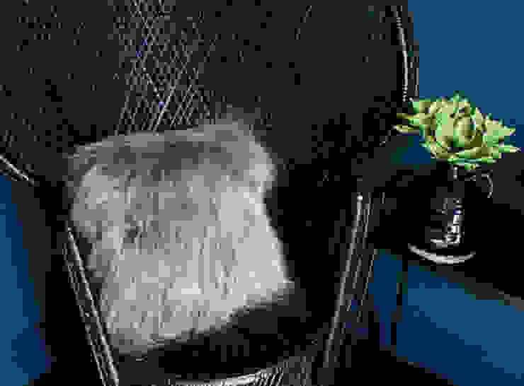 Cushion, Sheepskin Dust 家居用品配件與裝飾品 羊毛 Grey