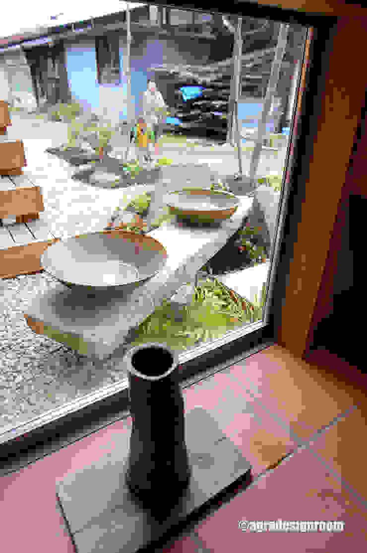 アグラ設計室一級建築士事務所 agra design room Garden Plant pots & vases