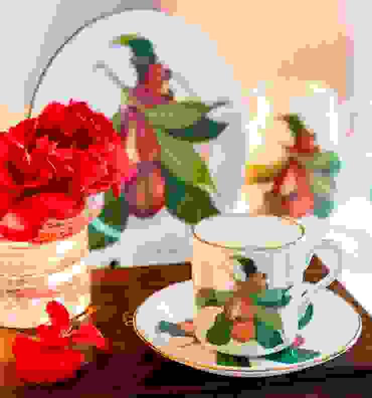 de style tropical par Jenny Mein Designs, Tropical Céramique