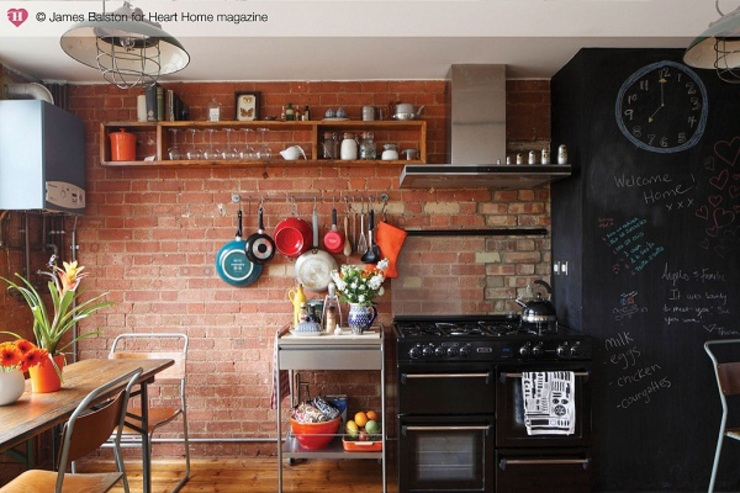 A Converted Warehouse in East London โดย Heart Home magazine อินดัสเตรียล