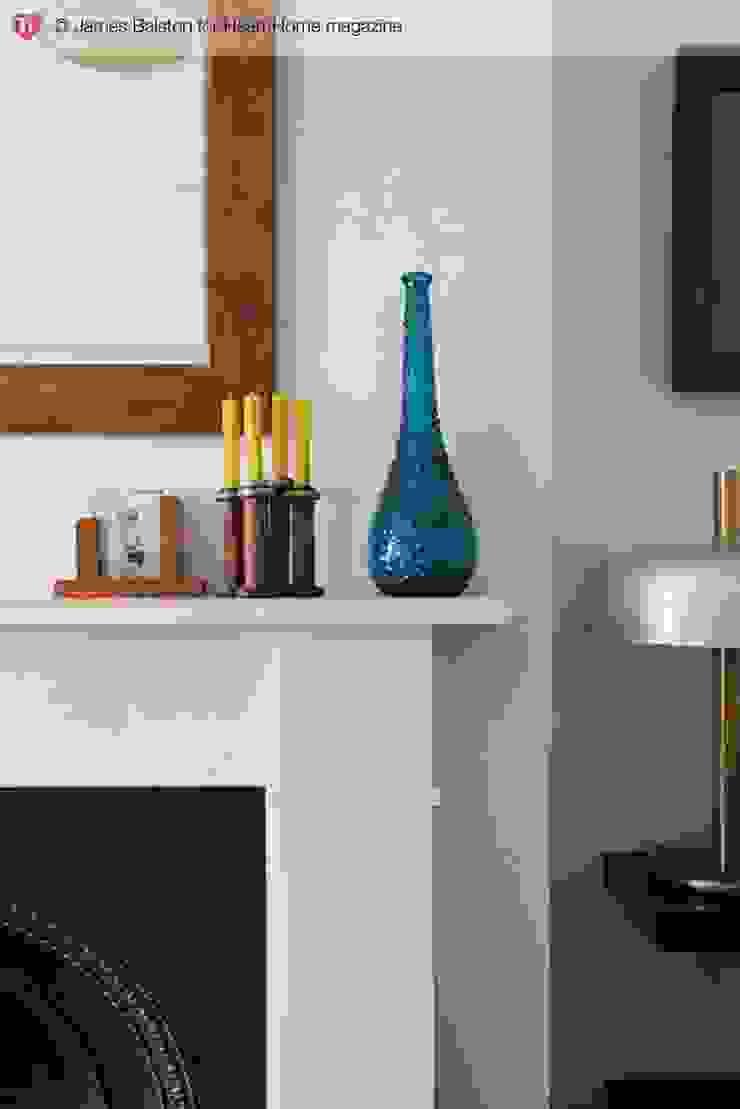 A Victorian Terraced House Heart Home magazine Salones de estilo clásico