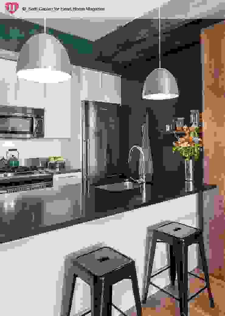 A Rented NY Apartment with a Sense of History Heart Home magazine Cocinas de estilo industrial