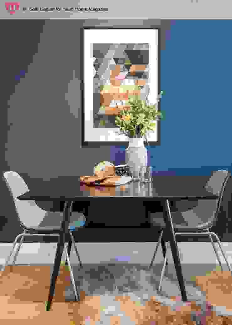 A Rented NY Apartment with a Sense of History Heart Home magazine Comedores de estilo industrial