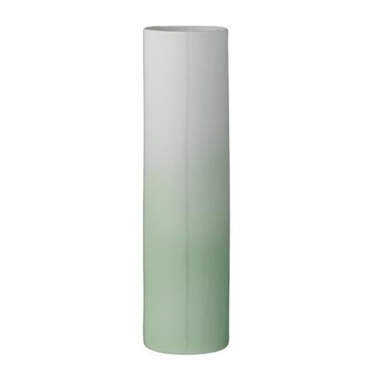 Ceramic Vase, Gradient Green Dust 家居用品配件與裝飾品 陶器 Green