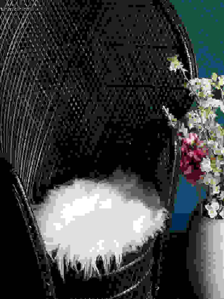 Sheepskin Seat Pad - White Dust 家居用品配件與裝飾品 羊毛 White