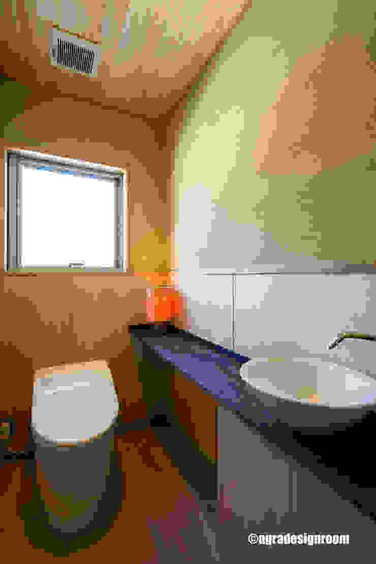 アグラ設計室一級建築士事務所 agra design room Modern bathroom