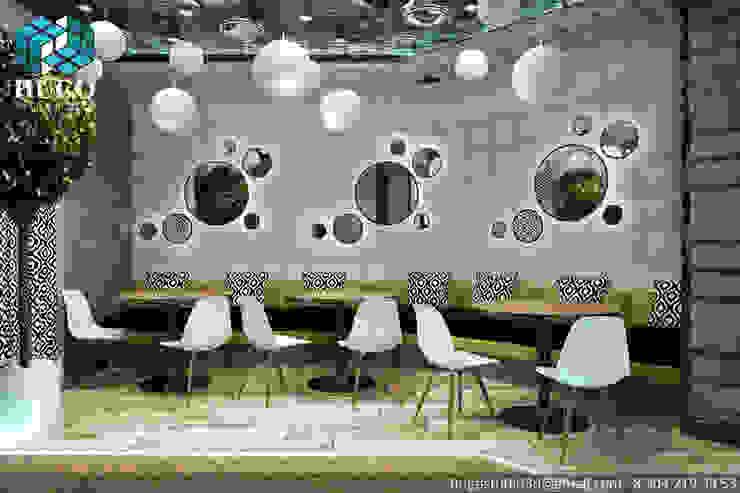 ПРОЕКТ №1 Медиа комната в стиле минимализм от HUGO Минимализм Кожа Серый