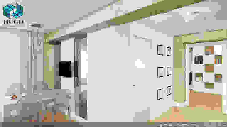 ПРОЕКТ №2 Столовая комната в стиле минимализм от HUGO Минимализм