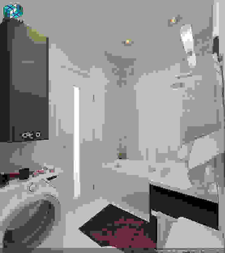 ПРОЕКТ №3 Ванная комната в стиле минимализм от HUGO Минимализм