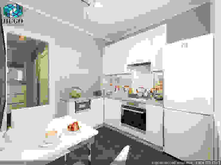 ПРОЕКТ №4 Кухня в стиле минимализм от HUGO Минимализм