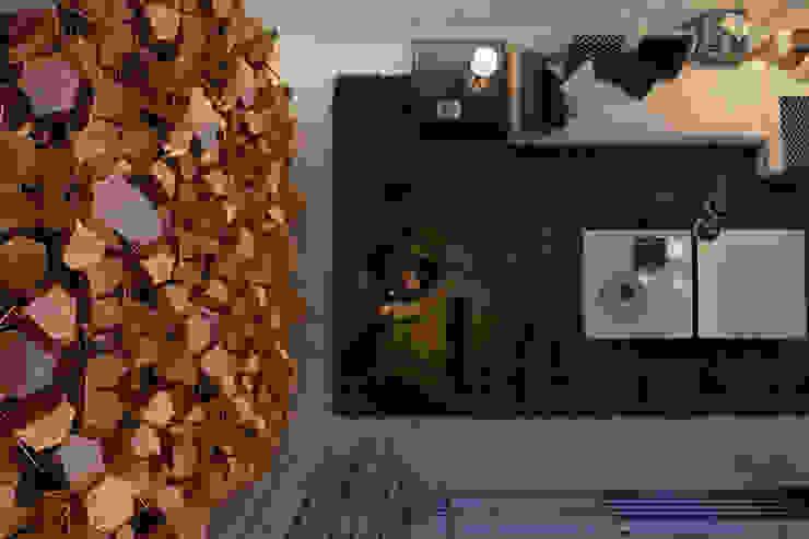 A J villa. Sardinia, Italy Гостиная в стиле минимализм от Виталий Юров Минимализм