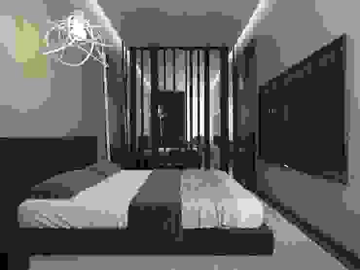 Luxury minimalism Спальня в стиле минимализм от MC Interior Минимализм