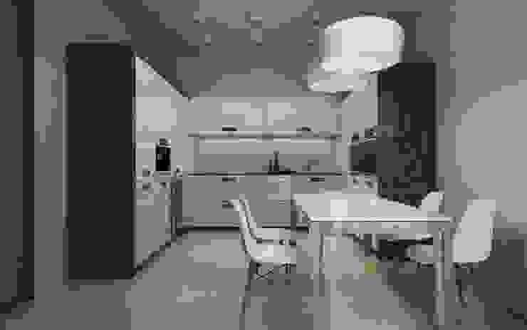 Luxury minimalism Кухня в стиле минимализм от MC Interior Минимализм